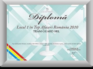 diploma loc 1sector 5 2010 Team Guard