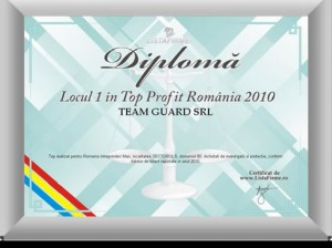 diploma loc 1sector 5 2010 profit Team Guard