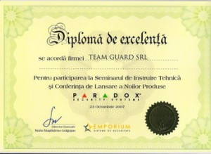 Diploma Paradox Team Guard