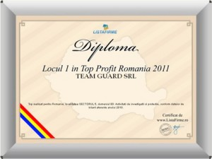 Top Profit 2011 Team Guard